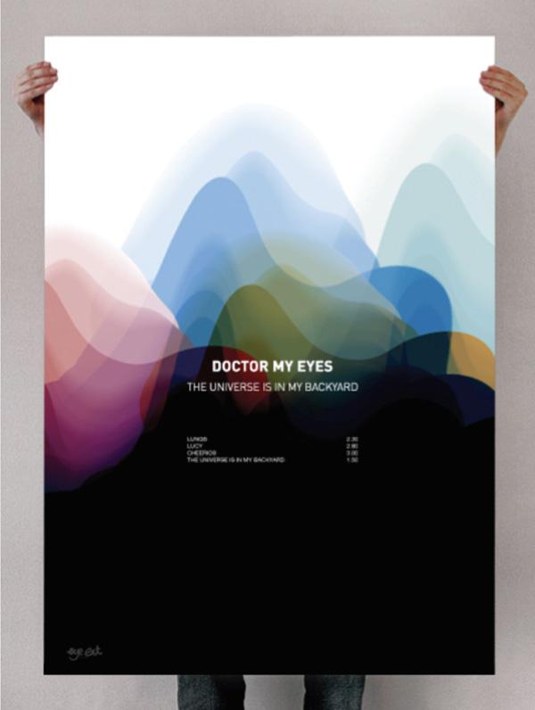 Doctor My Eyes Minimalist Poster