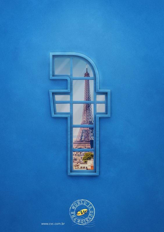 CVC Travel Agency Minimalist Facebook Ad