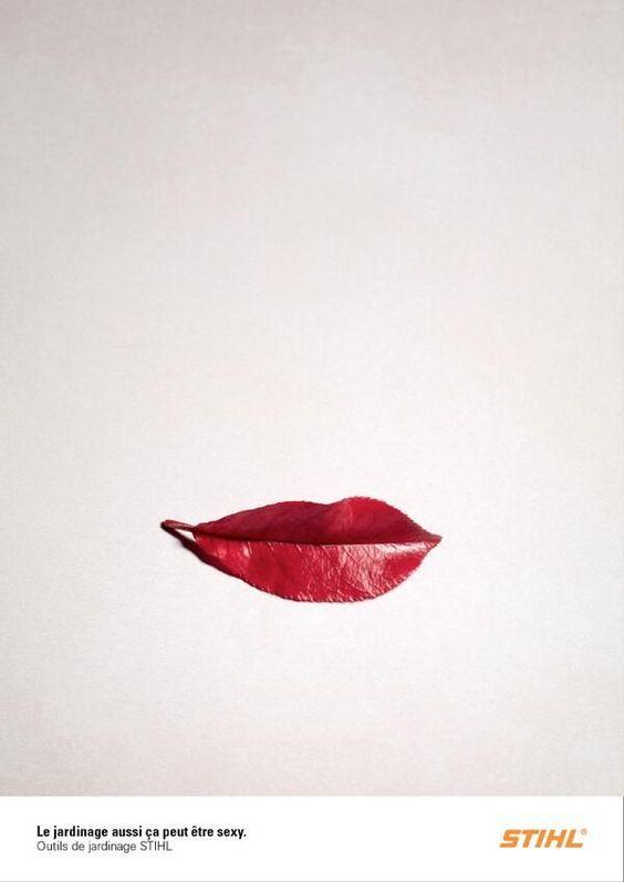 STIHL Leaf Lips Ad