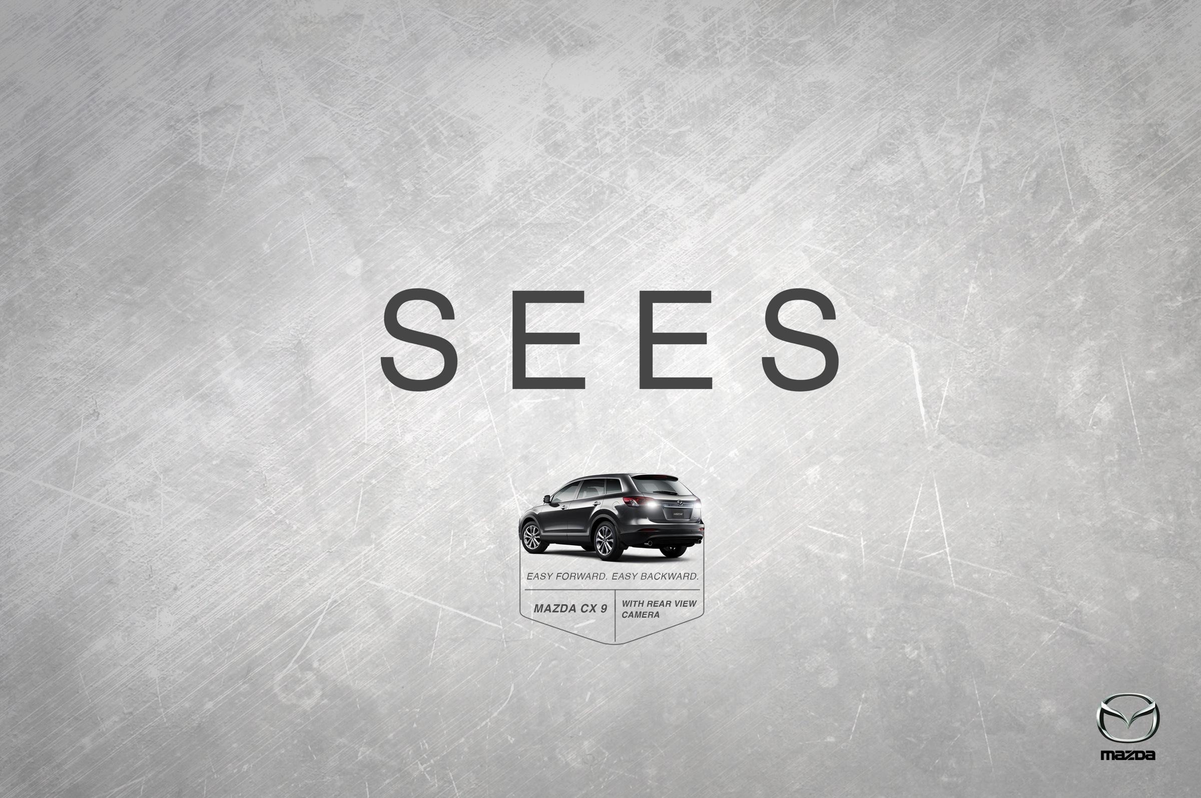 Mazda Minimalist Ad
