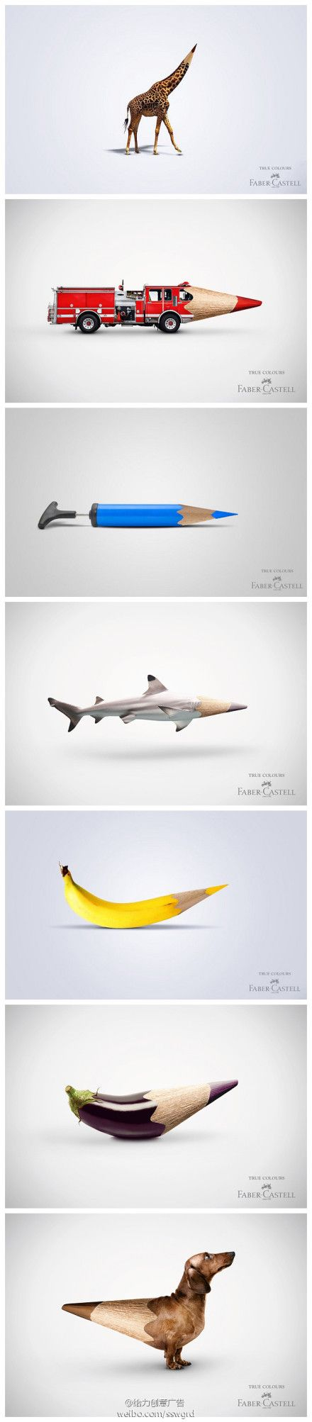 Collection of Faber Castell Ads