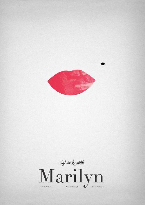 Marilyn Monroe Minimalist Poster