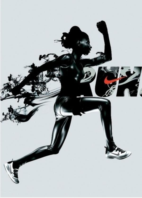 Nike Run Minimalist Poster