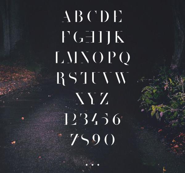 The 1975 Sur Font