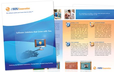 Momentum 18 design medical branding and medical design for Award winning brochure designs