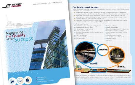 Momentum 18 recent branding work logo print web for Award winning brochure designs