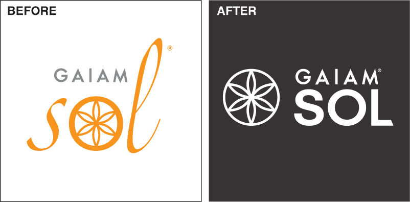 Logo Rebranding: before and after